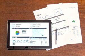 tablette graphique chiffres stylo données